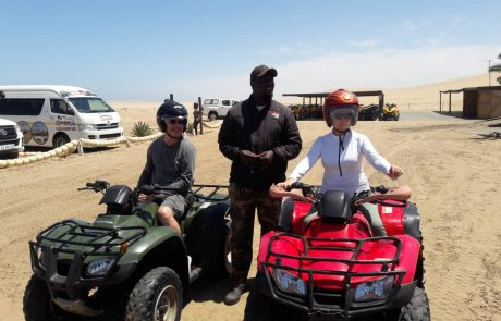 Quad bike in swakopmund namibia