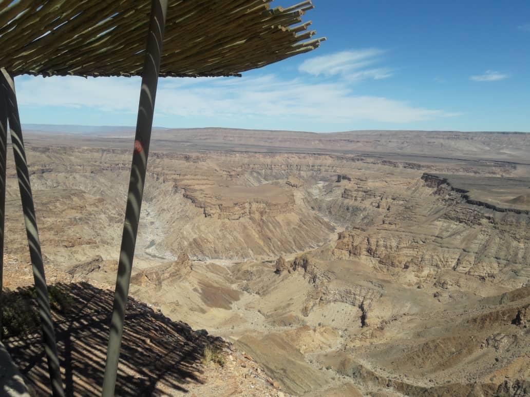 fish river canyon tour in namibia