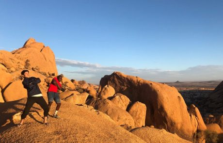 spitzkoppen tour in Namibia