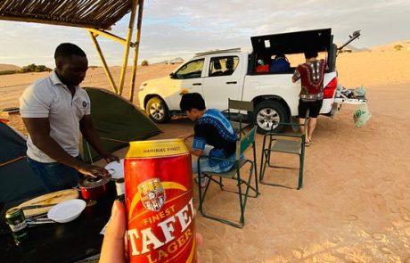 camping in sossusvlei Namibia
