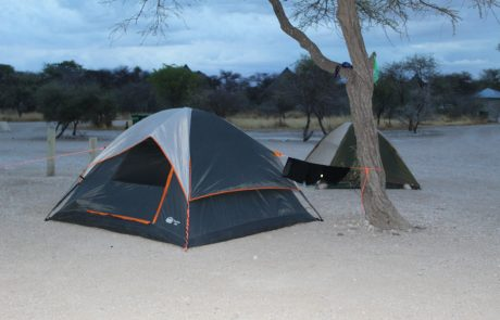 Camping in Etosha